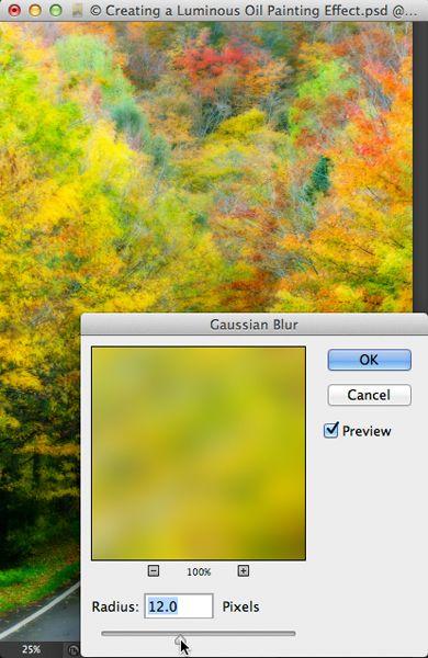 Luminous Painting Effect using Oil Paint Filter   Planet Photoshop