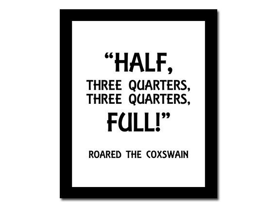 Rowing Quote Inspirational Typography