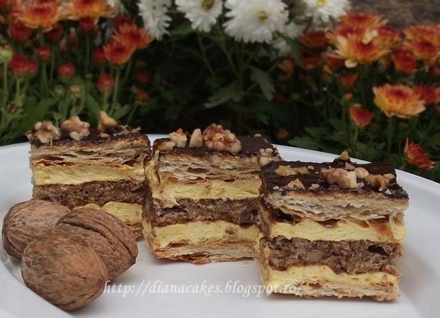 dian@'s cakes: Zuppette cu blat de bezea si nuca