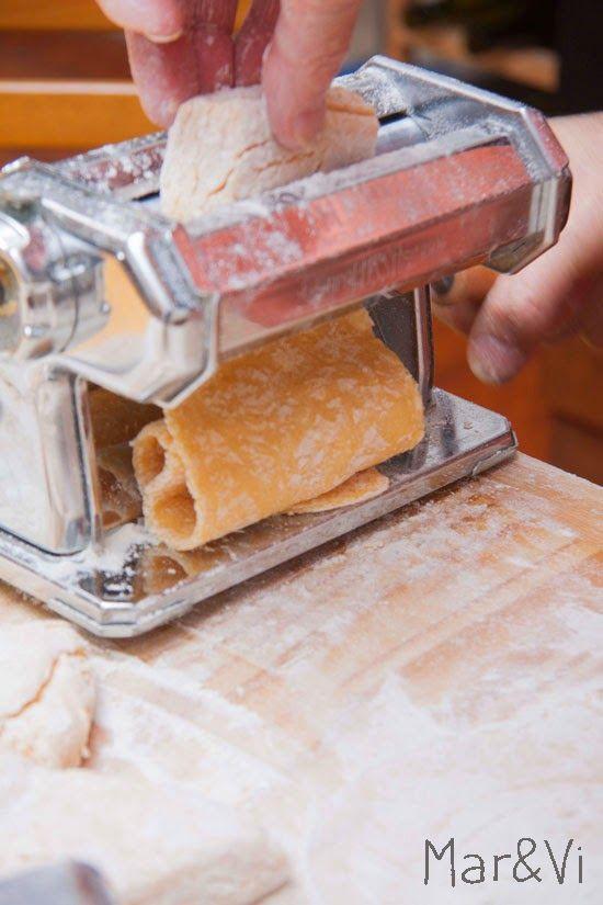 receta de pasta casera