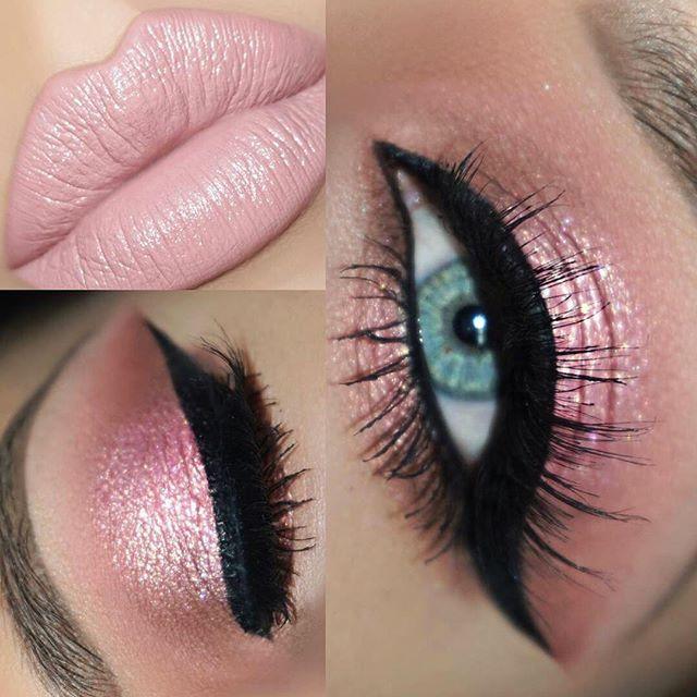 #makeup #makeupartist #beauty #fashion #lips #lipstick #mattelipstick #liquidlipstick #cosmetics #shop #shopping #trend #girl #woman #beautiful #makeuplooks #look #face #lips #eyes #eyeliner #mascara #labial #labiales #maquillaje #belleza #cosmetica Pink isn't just a color! It's an attitude 💗🌸🌷 @jonteblu Velvet Matte Lipstick in 'Tulle'