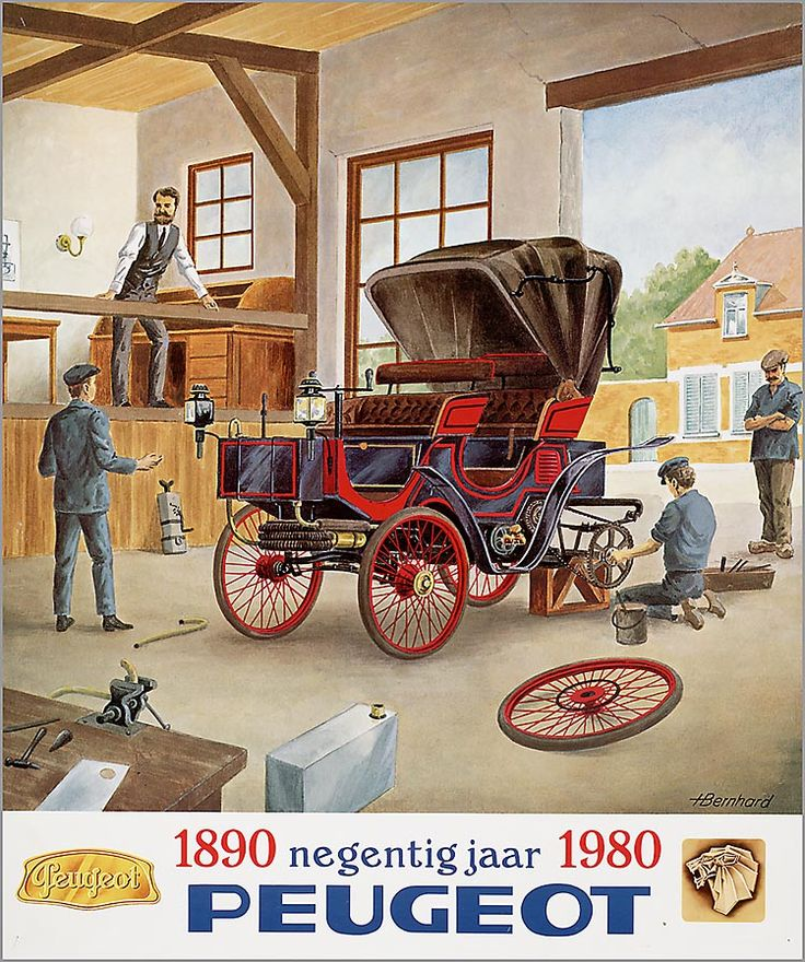 90 Years of Peugeot (1890-1980)