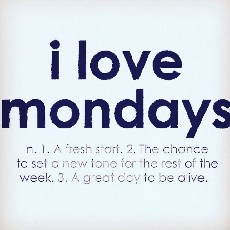 Have a great Monday x