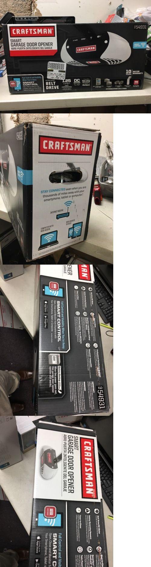Opener Systems 85898: New Craftsman 54931 Wireless Smart Garage Door Opener - 1-1 4 Hp (Retail) -> BUY IT NOW ONLY: $199.99 on eBay!
