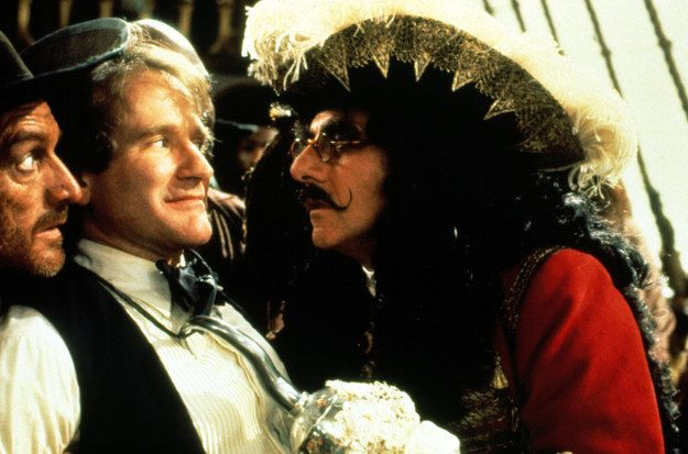 Hook (1991) — Peter Banning / Peter Pan | 29 Great Performances By Robin Williams