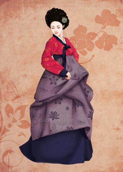 Han Bok Illustration