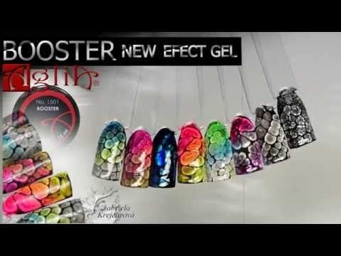 AGLIA- New efect gel BOOSTER - YouTube