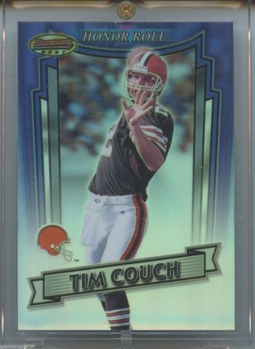 1999 Bowman's Best Tim Couch Honor Roll #H4