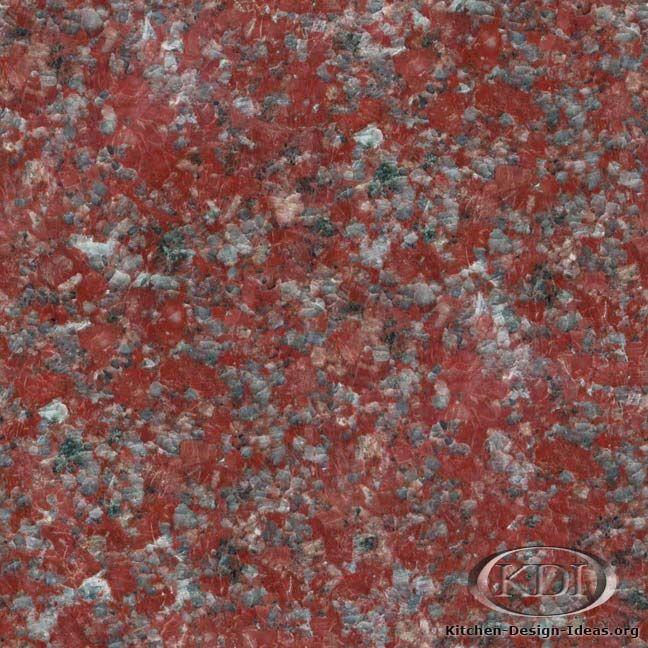 Red Marble Kitchen Countertops: Chengdu Red Granite