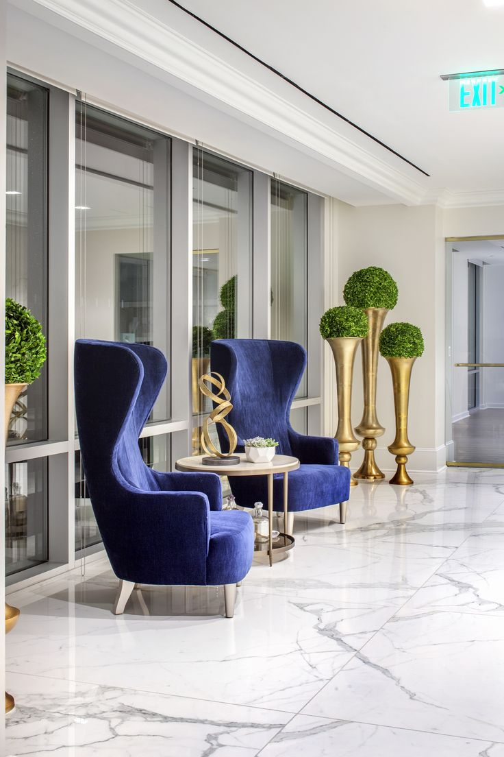 We Love These Fabulous Blue Chairs