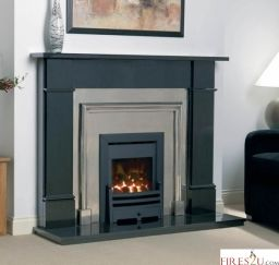 The Cast Tec HE (High Efficiency) is an attractive gas fire which, similar to the convector gas fire, and benefits from a substantial 4.0kW output, but unlike the convector, the HE gas fire is glass fronted, and this difference increases the efficiency from 60% to over 80% and in effect gives you more heat for less cost.
