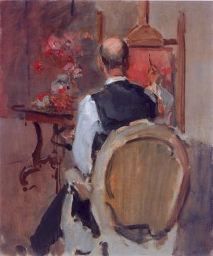 The painter Marius Isaac Israels