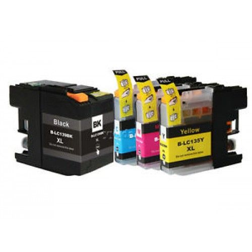 brand: compatible |code: lc 139 lc 135description: compatible brother lc-139 lc-135 color: bla ck, cyan, yellow, magentathis printer cartridge is compatible for: compatible brother printermfcj6 520dw , mfc-j6520dw , mfc
