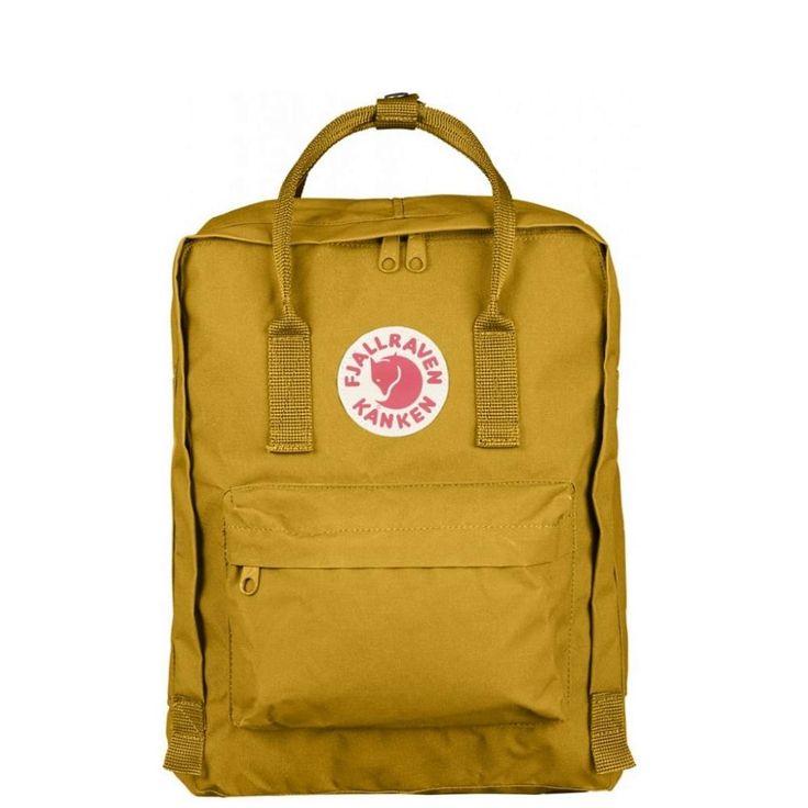 Fjällräven backpack Kånken ochre
