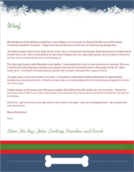32 best Christmas Cards images on Pinterest Christmas letters - christmas card letter templates