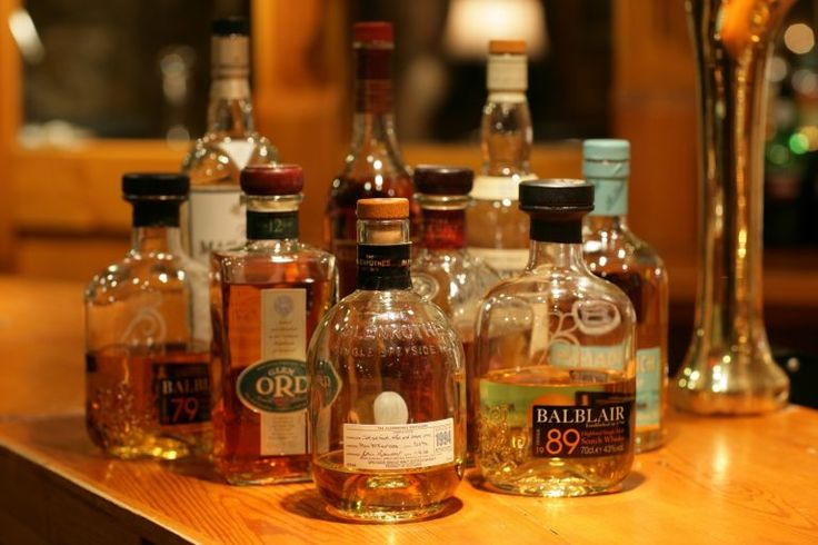 Sert bir içki olan ve asillerin içkisi olarak bilinen viski diğer alkollere göre daha öndedir.