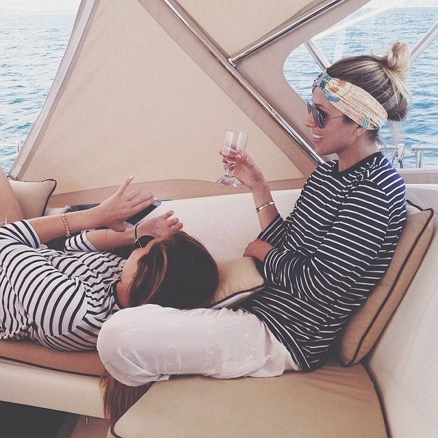 {every day should be a boat day / damsel in dior}