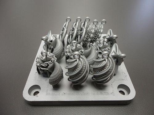 Cobalto y impresora 3D