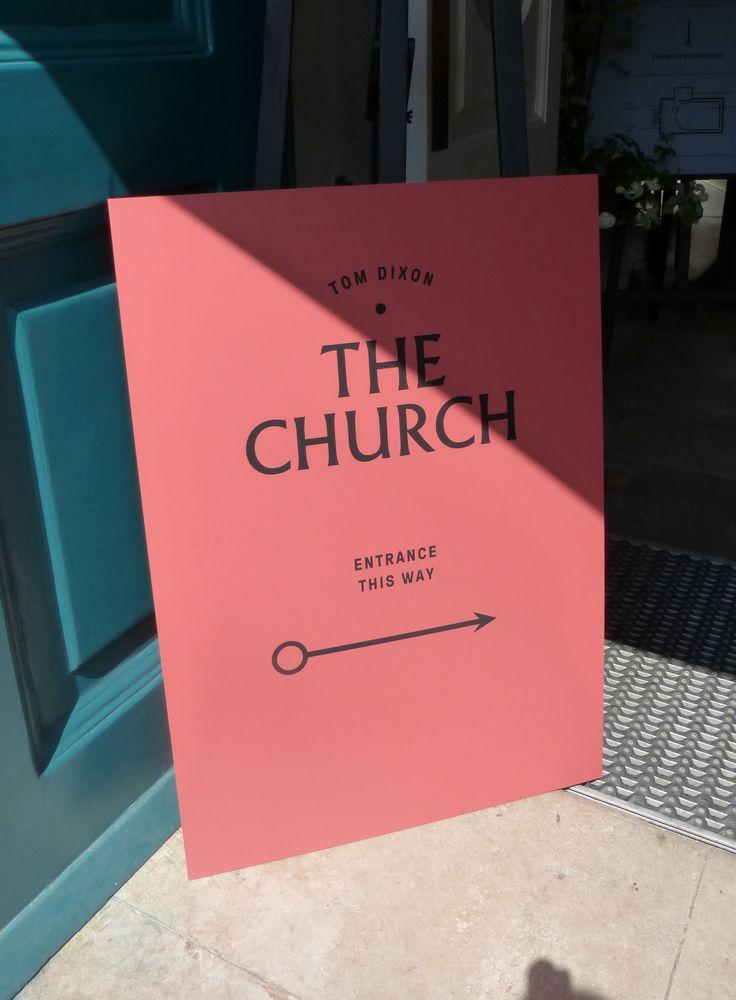Clerkenwell Design Week: Tom Dixon, The Church | BDA London