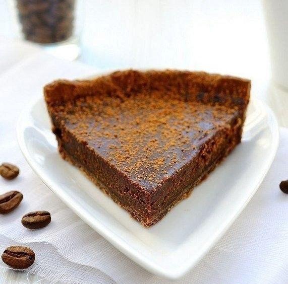 Шоколадно-трюфельный тарт