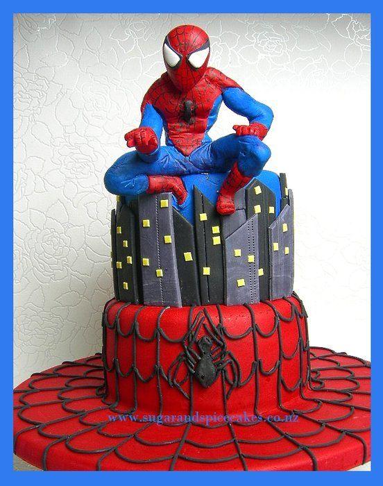 www.facebook.com/cakecoachonline - sharing...Spiderman Spiderman