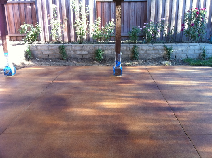 Best 25+ Outdoor concrete stain ideas on Pinterest | Stain ...