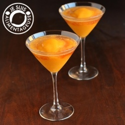 Peach Mango Bellinis recipe
