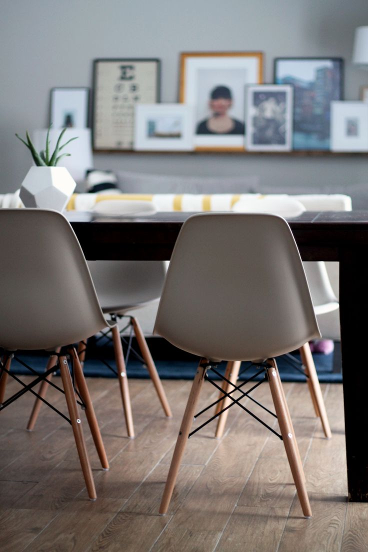 Molded Plastic Chairs for Every Style and Budget (and In Our Dining Room, Too!) | Chris Loves Julia