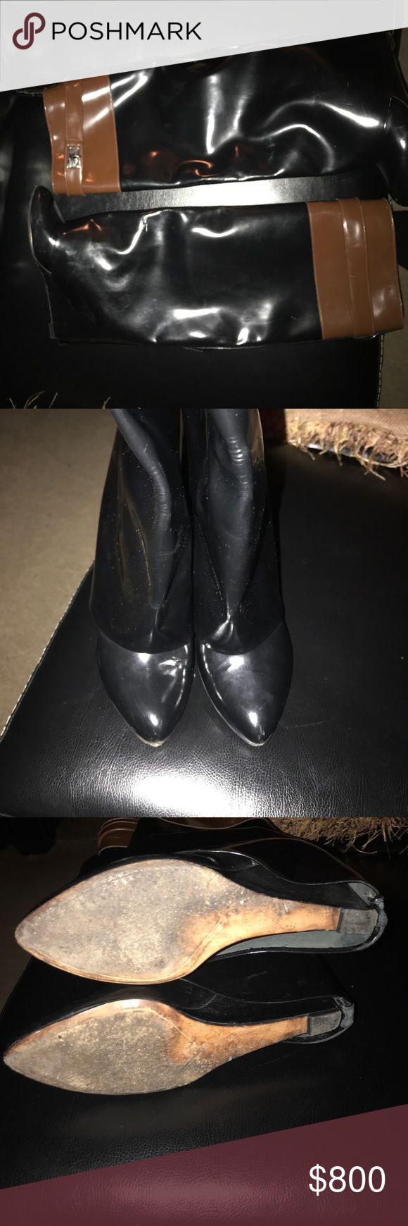 Givenchy Shark Boots/ 24 hour Sale 100% Authentic  PreOwned Shark Boots .  Size 10 EU 40 . Offers accepted Givenchy Shoes Heeled Boots