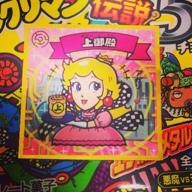 Super Mario Princess Peach bikkuriman!!!!!!!!