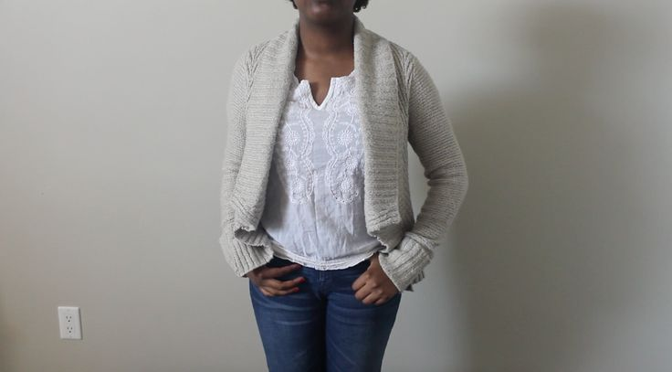 A lovely Jacob sweater perfect to keep off the chill of spring! https://www.facebook.com/shopsandrascloset