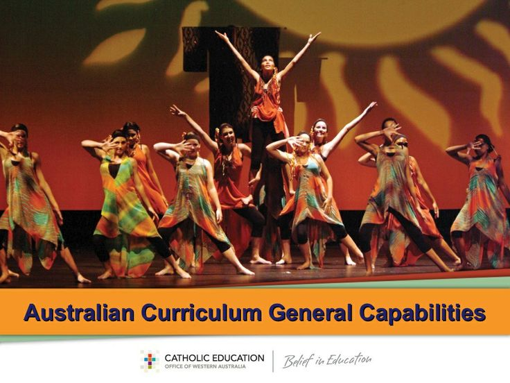 Australian Curriculum: General Capabilities