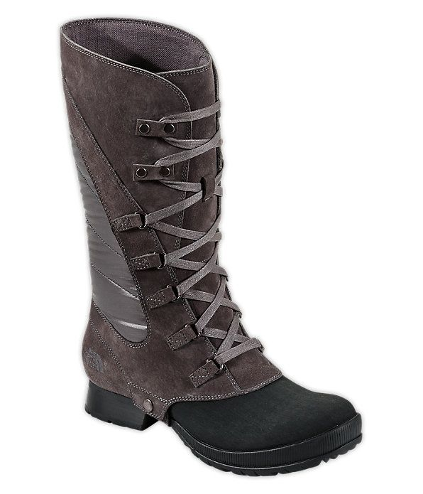 The Gris Violeta Lace North Ski Y Thermoball Face Botas Oscuro Après Ii gnPgwqr8Zx