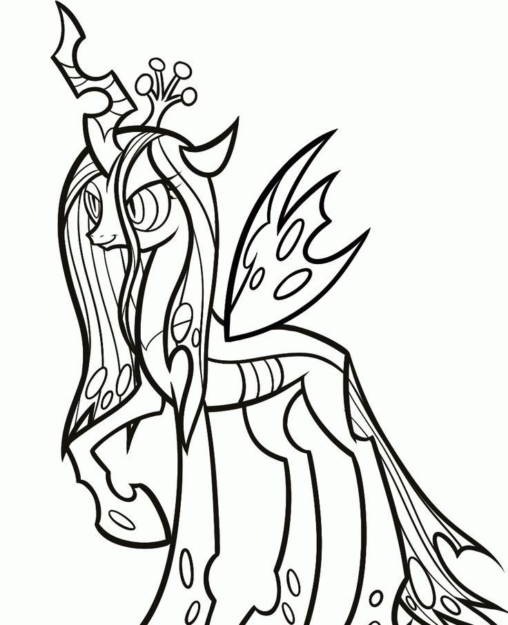 transformed into a spooky coloring page