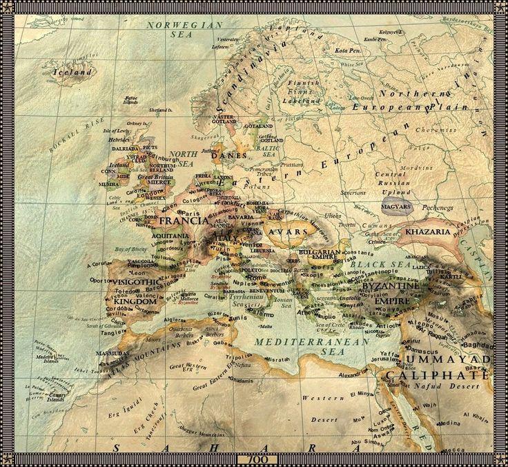 Europe 700 DC 561 best World history