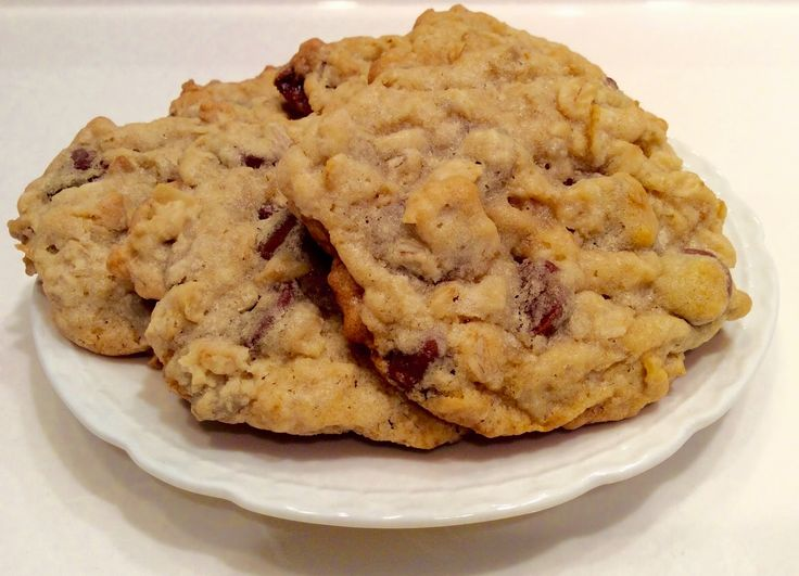 Sunflower Oatmeal Chocolate Morsel Cookies
