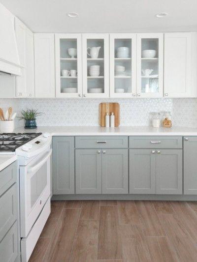 Keukens Ouderwetse Stijl : 17 beste ideeën over Grijze Keukenkastjes op Pinterest