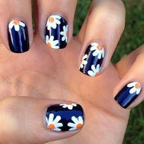 Flirty Daisies. Daisy Nail ArtDaisy NailsFlower ... - Best 25+ Flower Nails Ideas On Pinterest Daisy Nail Art, Daisy