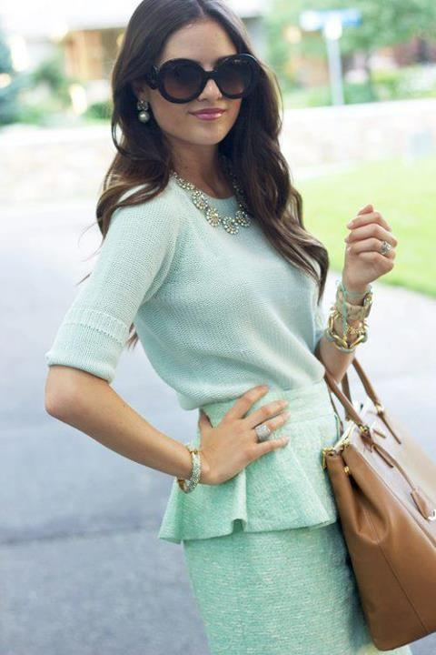 #tjmaxx #maxxexpression -Nice mint outfit for the office this Spring.