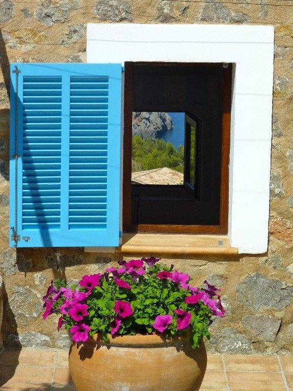 sea views through bedroom windows