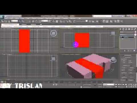 3Ds MAX - Cara Mudah Membuat Dinding