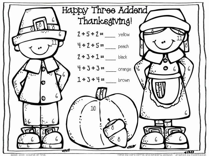 Turkey Addition Thanksgiving Kindergarten Thanksgiving Math Activities Thanksgiving Worksheets