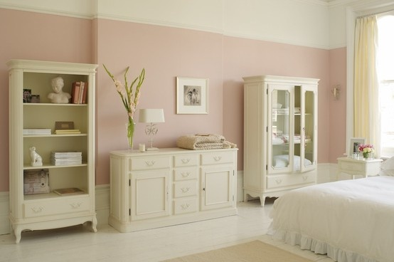"""Provencale"" collection furniture in ivory from Laura Ashley."