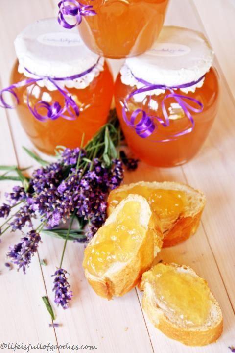 Apfel-Lavendel-Gelee