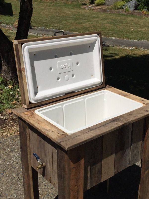 Igloo Wood Ice Chest For Sale In Puyallup Wa Offerup Wooden Ice Chest Wood Cooler Ice Chest