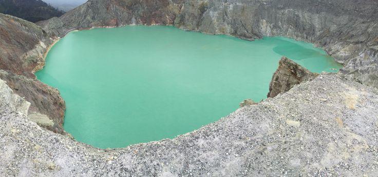#crater #volcano #ijen