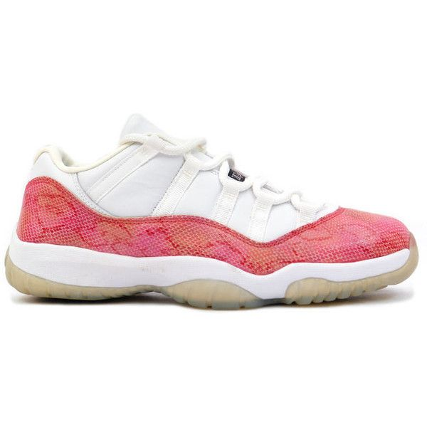 newest collection 221c8 0364c ... Womens Rosherun Flyknit Running Shoes Kixclusive - Air Jordan 11 Retro  Snake Low White Pink (700) ❤ liked ...