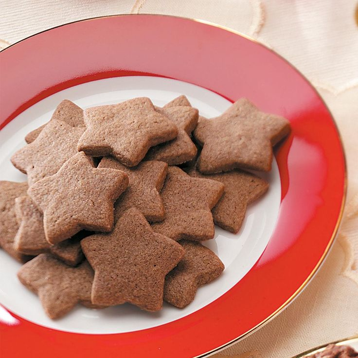 """Zimtsterne Recipe -During December, homes and bakeries in Switzerland are filled with the aroma of classic cookies like these """"Zimtsterne."""" —Taste of Home Test Kitchen"""