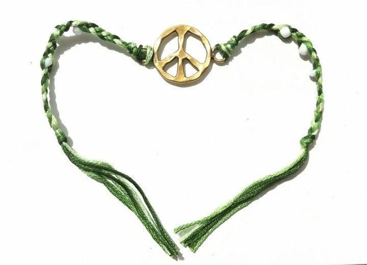 Peace Bracelet | Peace, Bracelets and Projects
