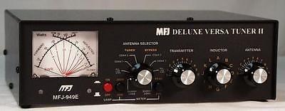 Other Ham Radio Equipment: Mfj-949E 1.8-30Mhz 300 Watt Deluxe Versa Tuner Ii Antenna Tuner -> BUY IT NOW ONLY: $171.75 on eBay!